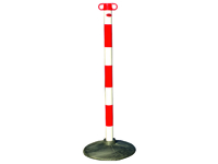 Plastic Posts With Bases