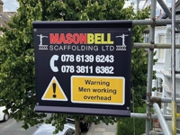 Double Sided Scaffold Banners