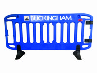 Bespoke And Branded Barriers - Contact Us For Prices