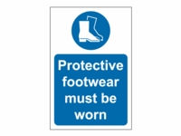Protective Footwear Site Safety Sign - PP02 - 200mm x 300mm