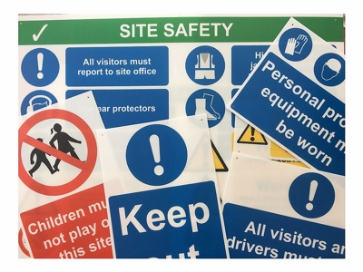 Large Site Safety Sign Bundle