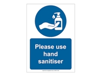 HS03 - Please Use Hand Sanitiser Sign