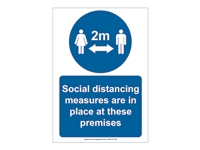HS10 - Social Distancing Signs