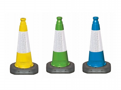 Coloured Traffic Cones